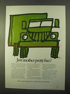 1970 American Trucking Association Ad - Pretty Face?