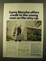 1970 Carte Blanche Ad - Credit to The Young Man