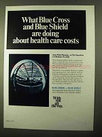 1970 Blue Cross Blue Shield Ad - About Health Care Costs
