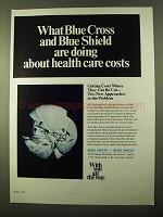 1970 Blue Cross Blue Shield Ad - Health Care Costs