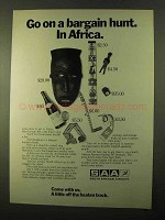 1970 SAA South African Airways Ad - Bargain Hunt