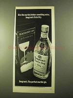 1970 Seagram's Extra Dry Gin Ad - Martini Drinker