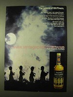 1970 Seagram's 100 Pipers Scotch Ad - The Legend Of