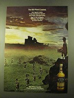 1970 Seagram's 100 Pipers Scotch Ad - The Legend