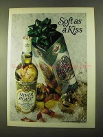 1970 Inver House Scotch Advertisement - Soft as A Kiss