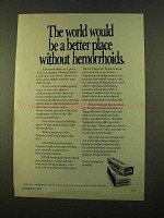 1970 Nupercainal Hemorrhoid Preparation Ad - The World