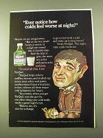 1970 Vicks NyQuil Ad - Colds Feel Worse At Night