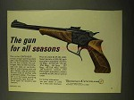 1970 Thompson / Center Arms Contender Pistol Ad