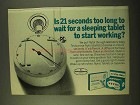 1970 Nytol Tablets and Capsules Ad - Is 21 Seconds Long