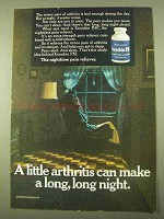 1970 Excedrin P.M. Pain Reliever Ad - Little Arthritis