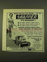 1970 Snapper Lawn Mower Ad - Before You Buy Any Mower