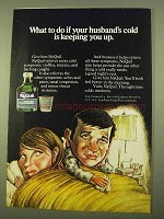 1970 Vicks NyQuil Ad - Husband's Cold Keeping You Up
