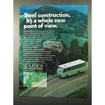 1971 Superior Motor Homes Ad - Steel Construction
