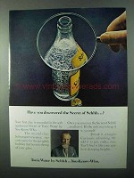 1971 Schweppes Tonic Water Ad - Have You Discovered?