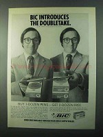 1971 Bic Accountant Fine Point and Medium Point Pens Ad