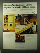 1971 Westinghouse Products Ad - Improve Quality of Life