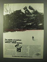 1971 Thermos Space Blanket Ad - Middle of Nowhere