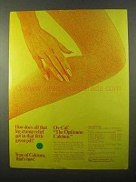 1971 Marion Laboratories Os-Cal Calcium Tablet Ad