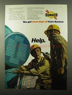 1971 Sunoco Oil Ad - You Get More Than Oil From