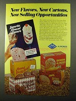 1971 Blue Diamond Almonds Ad - New Flavors New Cartons
