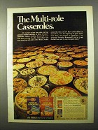 1971 Betty Crocker Noodles Almondine and Romanoff Ad