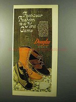 1971 Douglas Shoes and Clods Boots Ad - New Game
