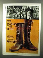 1971 Dexter Boots Ad - W852-3 and W854-2
