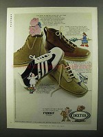 1971 Dexter Funky Shoes Ad - The Most Fearless
