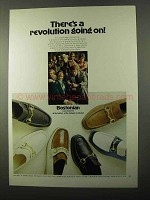 1971 Bostonian Unwinders Shoes Ad - A Revolution