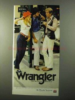 1971 Wrangler Jeans & Sportswear Ad - The Way It Is