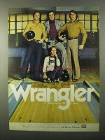 1971 Wrangler Jeans Ad - Wremember W is Silent