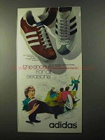 1971 Adidas Shoes Ad - Shoe For All Seasons