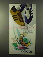1971 Adidas Shoes Ad - The Shoe For All Seasons