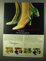 1971 Naturalizer Shoes Ad - With the Beautiful Fit