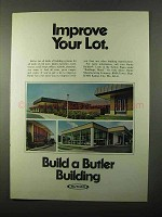 1971 Butler Buildings Ad - Improve Your Lot
