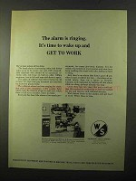 1971 Warner & Swasey Shaft Turning Machines Ad
