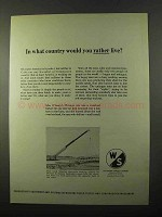 1971 Warner & Swasey Hydraulic Cranes Ad - Rather Live