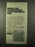 1971 Bryant Air Conditioning Ad - The Economical One