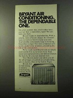 1971 Bryant Air Conditioning Ad - The Dependable One