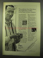 1971 Public Service Electric and Gas Company Ad