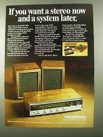 1971 Panasonic Barrington Model RE-7670 Stereo Ad
