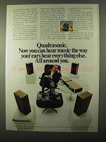 1971 Panasonic Ad - Optimal Remote Sound Balancer