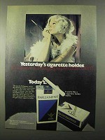 1971 Parliament Cigarettes Ad - Yesterday's Holder