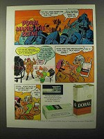 1971 Doral Cigarettes Ad - Makes the Scene