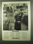 1971 American Trucking Associations Ad - Supermarkets?