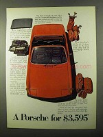1971 Porsche Car Ad - A Porsche for $3,595