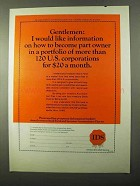 1971 IDS Investors Stock Fund Ad - Gentlemen