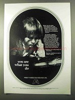 1971 Fidelity American Bankshares Ad - What You Do