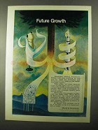 1971 Marsh & McLennan Ad - Future Growth