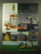 1971 Old Forester Bourbon Ad - Formula 1 Racing